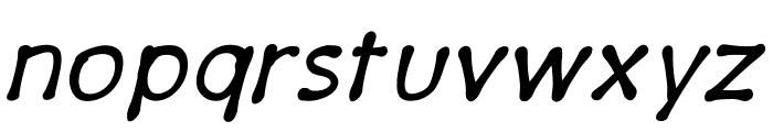 PajamaPantsItalic Font LOWERCASE