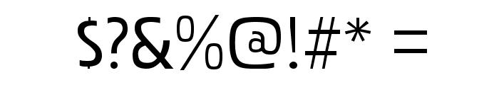 PakenhamRg-Regular Font OTHER CHARS
