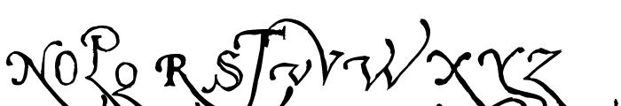 Pal Antic Font UPPERCASE