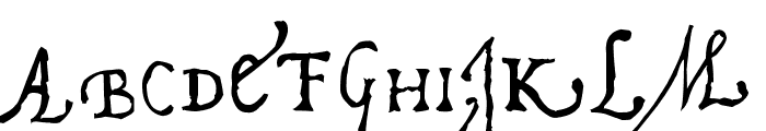 Pal Antic Font LOWERCASE