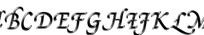 Pal Mod Font UPPERCASE