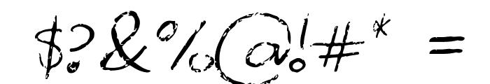 Palafotz Font OTHER CHARS