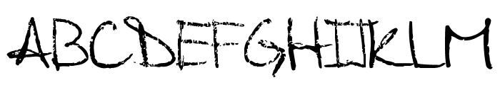 Palafotz Font UPPERCASE