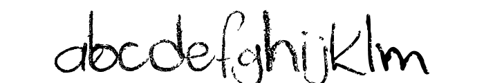 Palafotz Font LOWERCASE