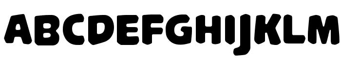 PalameciaTitling-Regular Font UPPERCASE