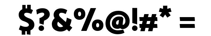 Palanquin Dark SemiBold Font OTHER CHARS