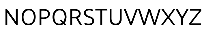 Palanquin Regular Font UPPERCASE