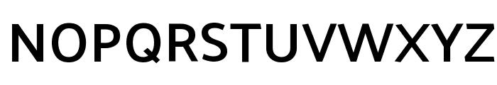 Palanquin SemiBold Font UPPERCASE