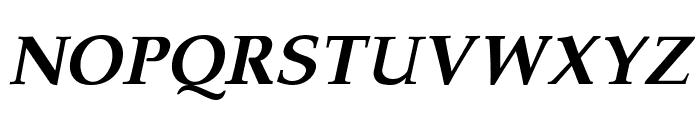 Pali Bold Italic Font UPPERCASE