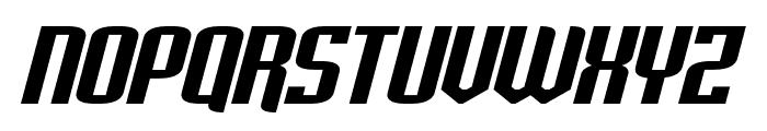 Palisoc Extended Italic Font UPPERCASE