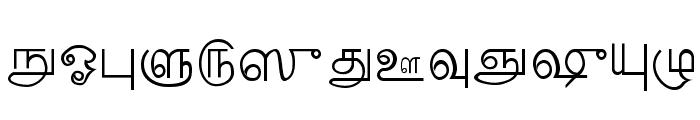 Palladam Medium Font UPPERCASE