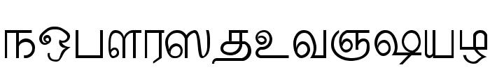 Palladam Medium Font LOWERCASE
