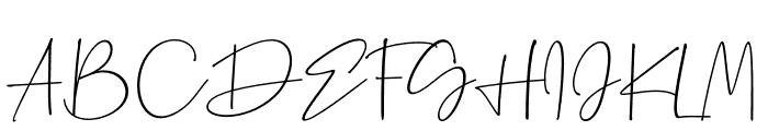 Palmaton Font UPPERCASE
