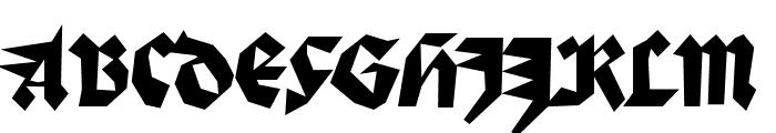 Palmona Font UPPERCASE