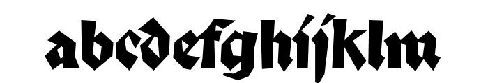 Palmona Font LOWERCASE