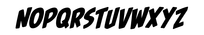 PalookaBB-Italic Font UPPERCASE