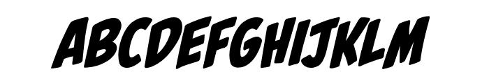 PalookaBB-Italic Font LOWERCASE
