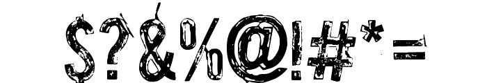 Palsu Font OTHER CHARS