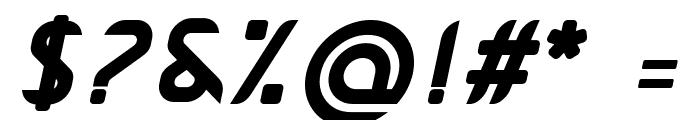 Pamekasan Bold Italic Font OTHER CHARS