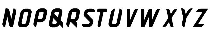 Pamekasan Bold Italic Font UPPERCASE