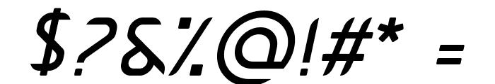 Pamekasan Italic Font OTHER CHARS