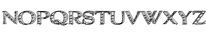 Pamelor II Font UPPERCASE