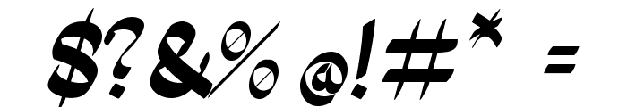 PanamaRoad-Regular Font OTHER CHARS