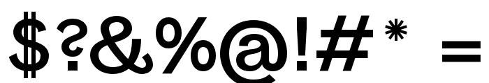 Panamera Font OTHER CHARS
