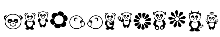 Pandamonium Font UPPERCASE