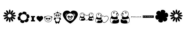 Pandamonium Font LOWERCASE
