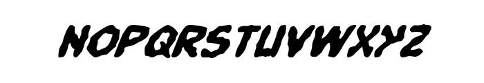 Pandemonious Puffery Italic Font LOWERCASE