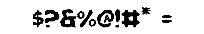 Pandemonious Puffery Font OTHER CHARS