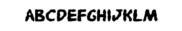 Pandemonious Puffery Font LOWERCASE