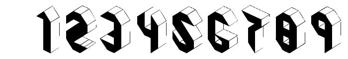 Pandimencional Bold Font OTHER CHARS