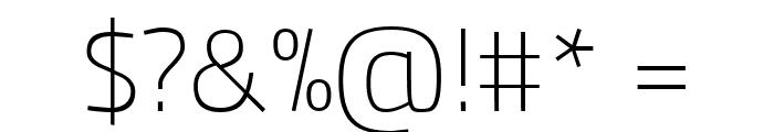 Panefresco 1wt Regular Font OTHER CHARS