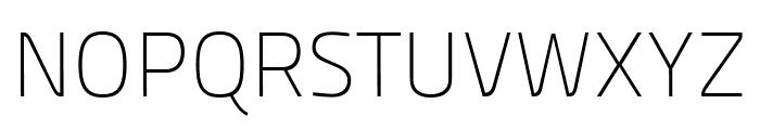 Panefresco 1wt Regular Font UPPERCASE