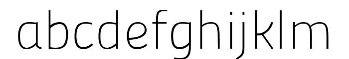 Panefresco 1wt Regular Font LOWERCASE