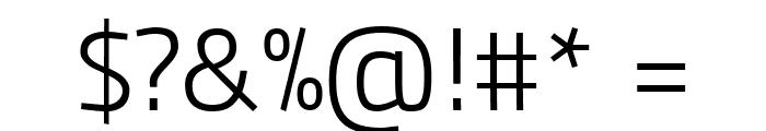 Panefresco 250wt Regular Font OTHER CHARS