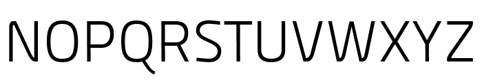 Panefresco 250wt Regular Font UPPERCASE