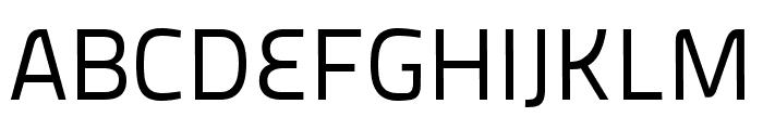 Panefresco 400wt Regular Font UPPERCASE