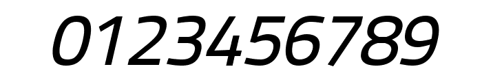 Panefresco 500wt Italic Font OTHER CHARS