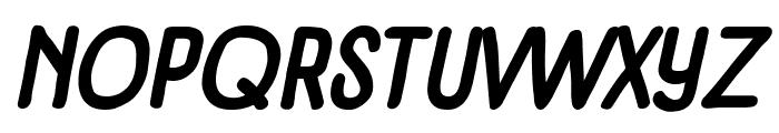 Panforte Condensed Bold Italic Font UPPERCASE