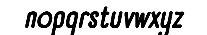Panforte Condensed Bold Italic Font LOWERCASE