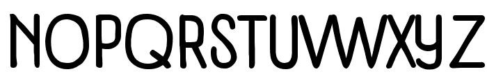 Panforte Condensed Regular Font UPPERCASE