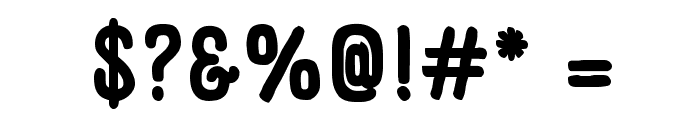 Panforte Pro Bold Font OTHER CHARS