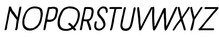 Panforte Pro Italic Font UPPERCASE
