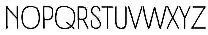 Panforte Pro Light Font UPPERCASE