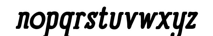 Panforte Serif Bold Italic Font LOWERCASE
