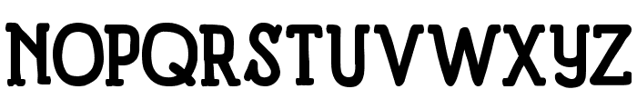 Panforte Serif Bold Font UPPERCASE