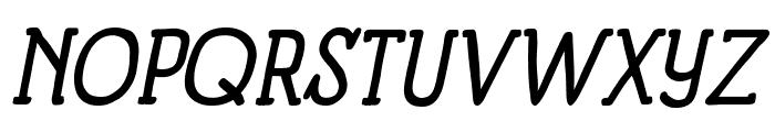 Panforte Serif Italic Font UPPERCASE